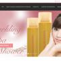ウェブ制作実績:英語・中国語翻訳サイト美容化粧品会社